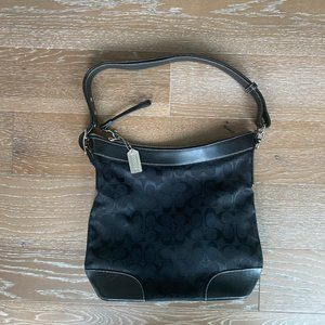 Coach Monogram Tote Bag | Black